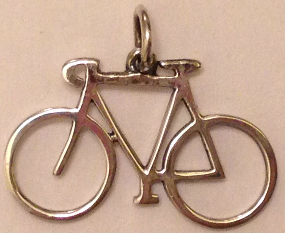 Retired James Avery Bicycle Charm Extremely Rare Sterling
