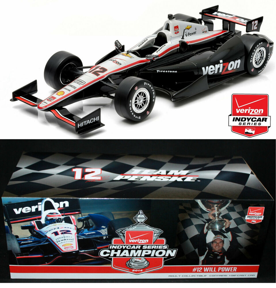 GREENLIGHT 2014 Verizon IndyCar Champion #12