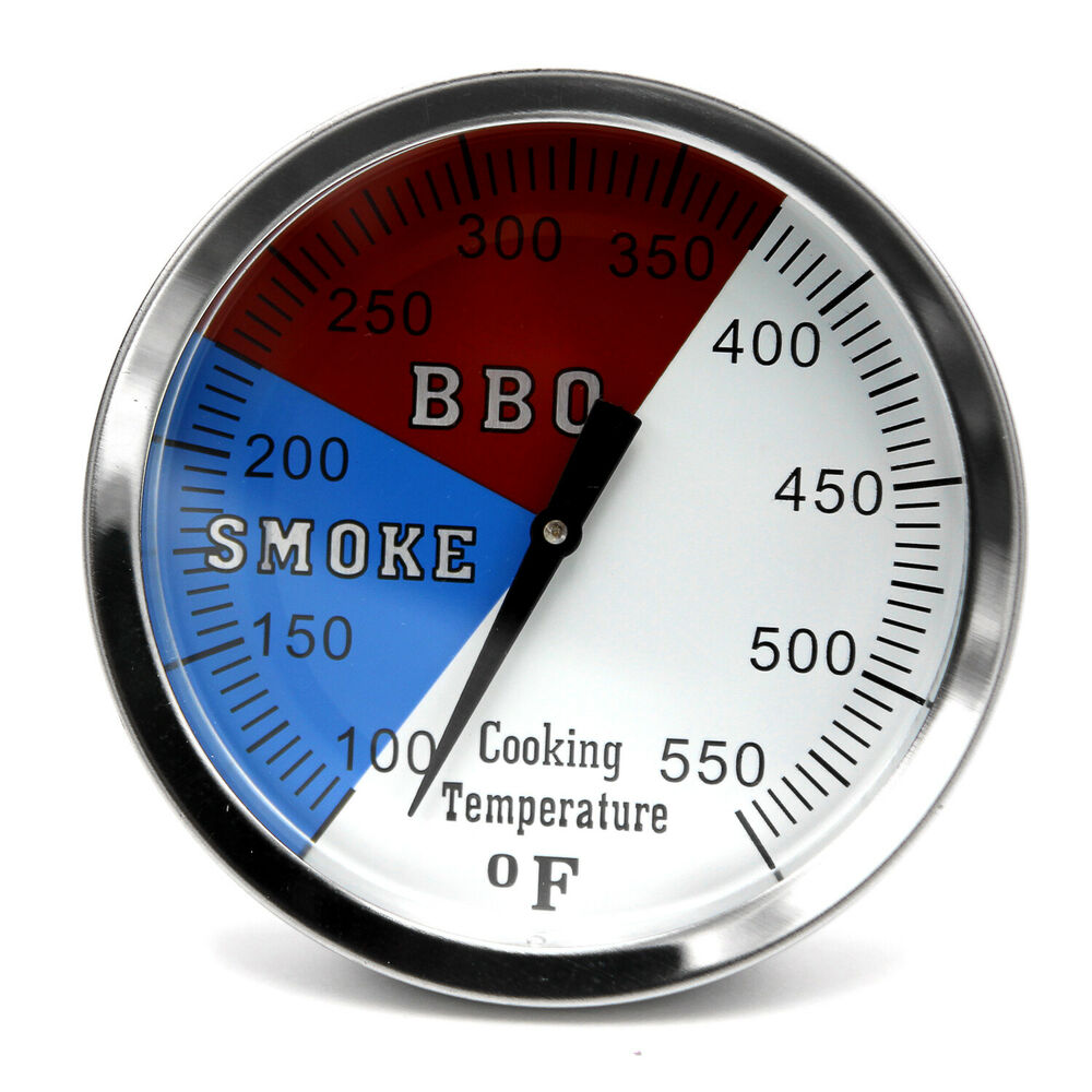 Hy3 Quot 550f Bbq Grill Smoker Pit Thermometer Ss Thermostat