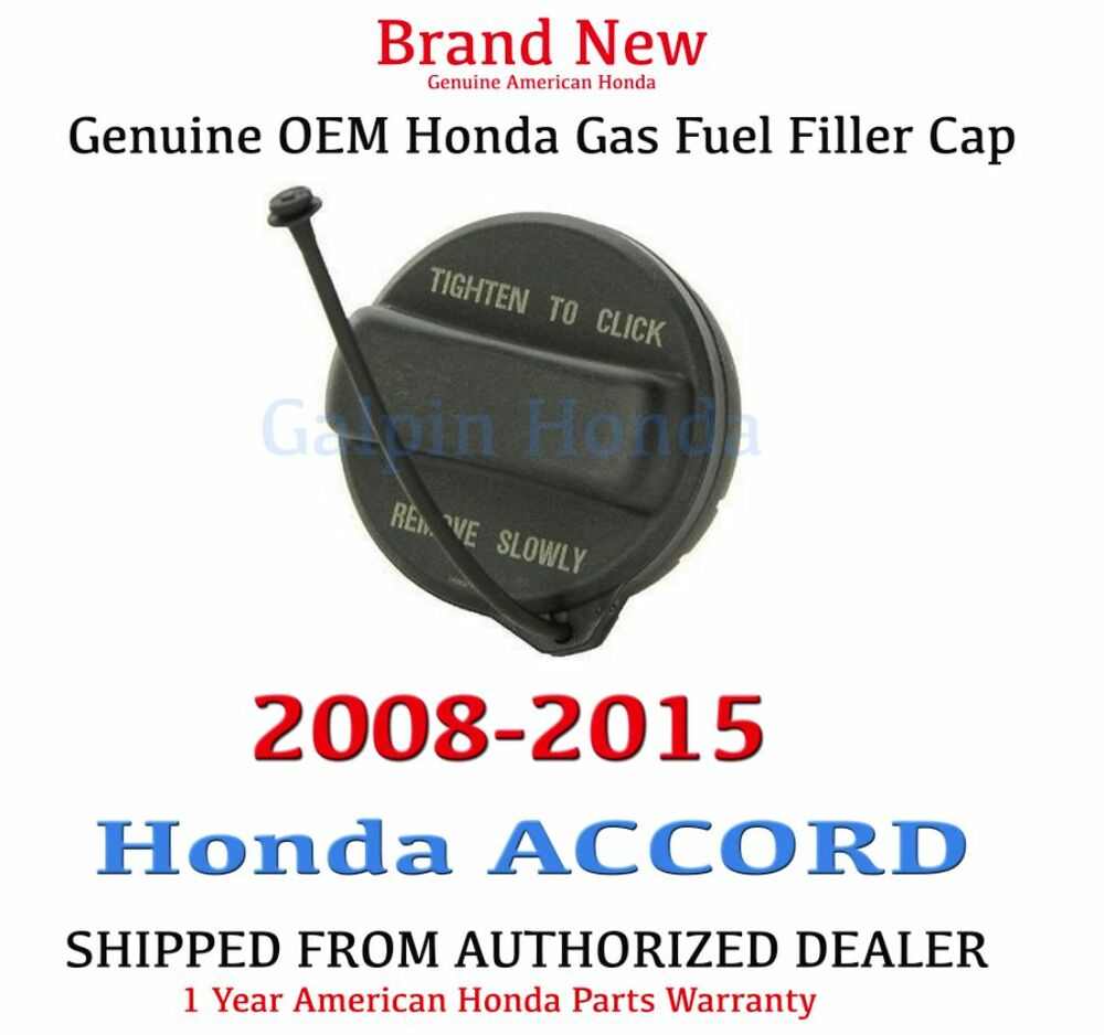 2008 2015 honda accord genuine oem honda gas fuel filler. Black Bedroom Furniture Sets. Home Design Ideas