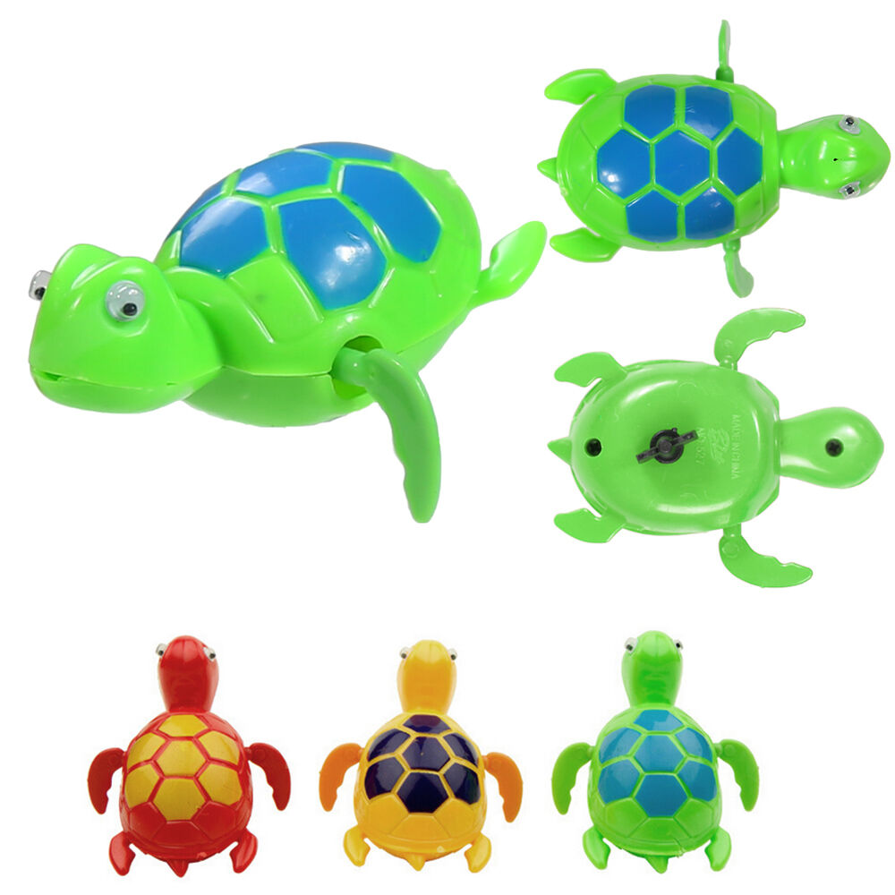 New Swimming Wind Up Turtle Pool Animal Floating Toys For