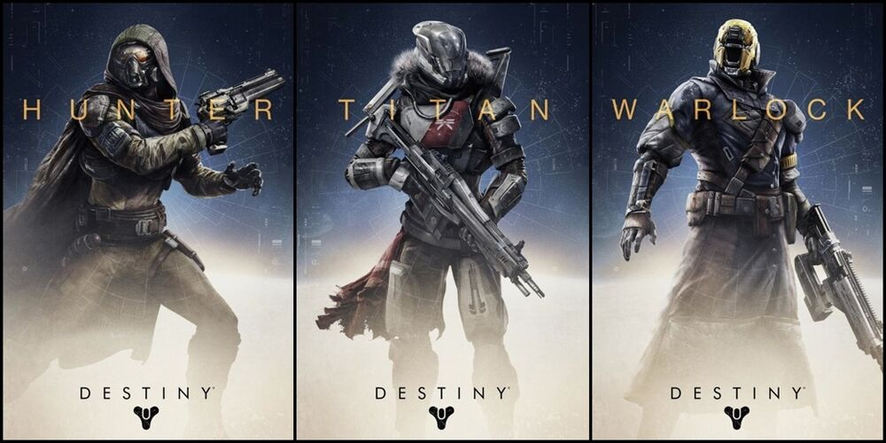 Destiny Hot game Fabric Art Cloth Poster 24inch x 13inch