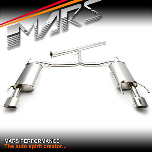 Toyota Solara Exhaust Manifold Engine System Intake: MARS Performance Cat-Back Exhaust System Muffler For