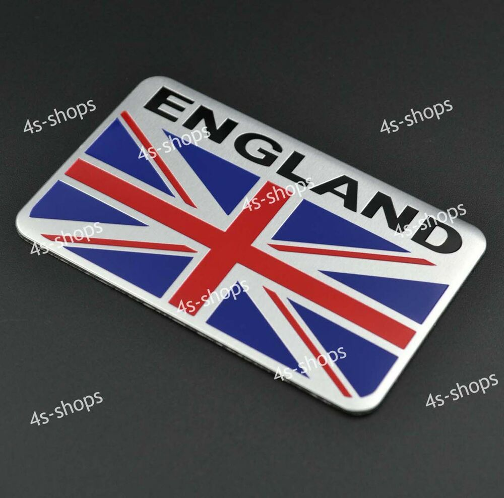 Car/Motorcycle Decal England UK Flag Decor Sticker 3D