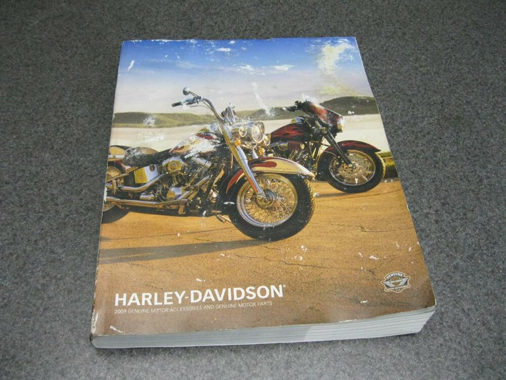 09 harley davidson parts accessories catalog 691 ebay. Black Bedroom Furniture Sets. Home Design Ideas