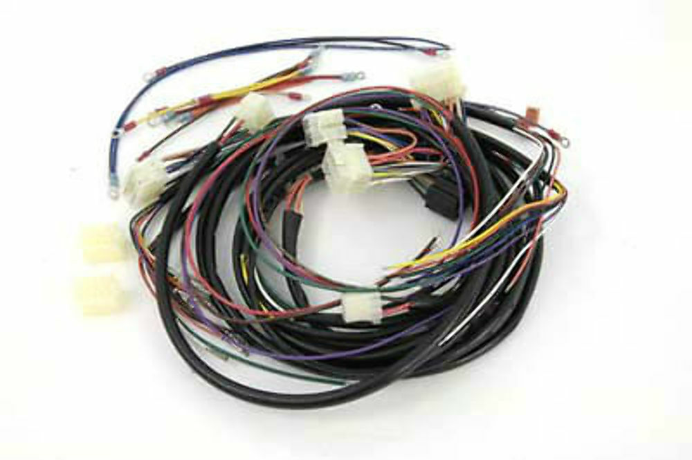 Stock Softail Builders Wiring Harness Color Code Oem