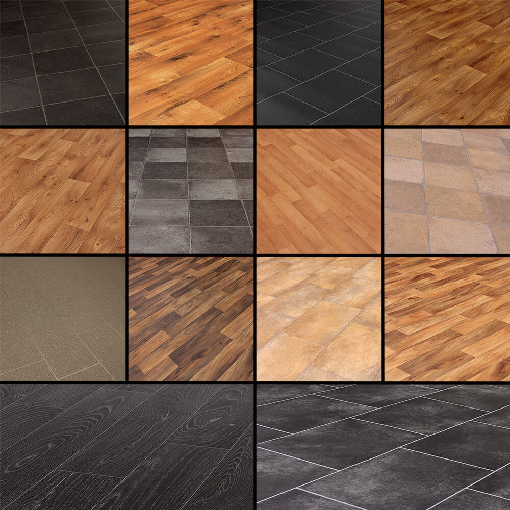 3m Quality Vinyl Flooring Slate Stone Tiles Wood