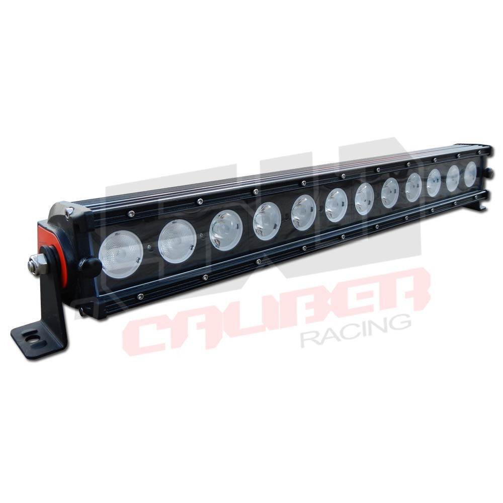 Led Lights For Lawn Tractor : Quot led light bar combo beam snow plow blower lawn tractor mower towing ebay