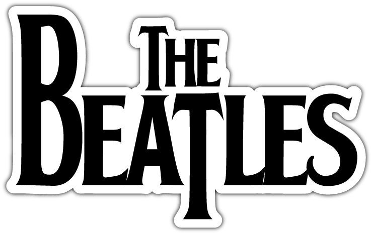 The Beatles Band Music Car Bumper Window Notebook Sticker