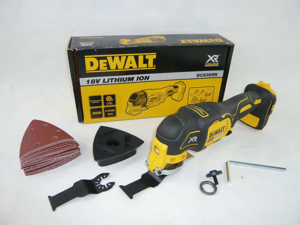 dewalt 18v akku multi tool dcs355n multifunktionswerkzeug. Black Bedroom Furniture Sets. Home Design Ideas