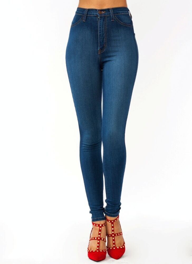 ASOS DESIGN Petite Ridley high waist skinny jeans in extreme dark stonewash with button fly and ripped knee. £ Warehouse high waisted sculpting skinny jeans in mid wash. £ ASOS DESIGN Maternity Ridley high waist skinny jeans in white with under the bump waistband. £