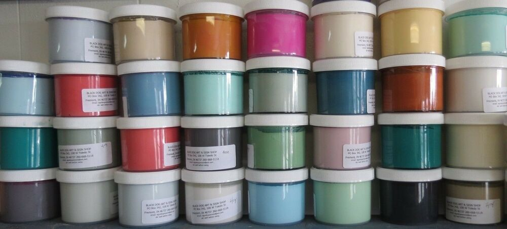 Mcclains Chalk Blended Paint Furniture Metal Wood Glass