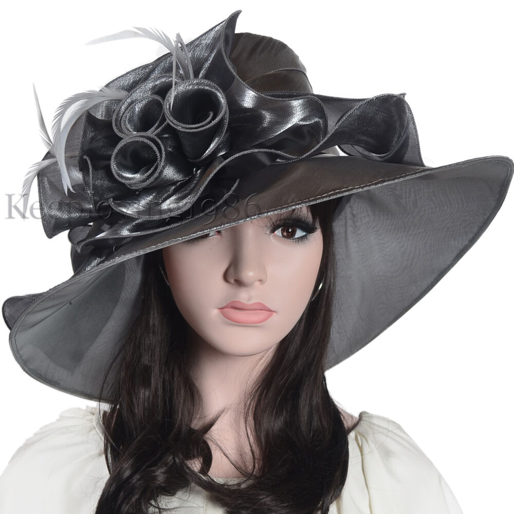 Lady oaks derby church hat cocktail evening dress hat for Dress hats for weddings