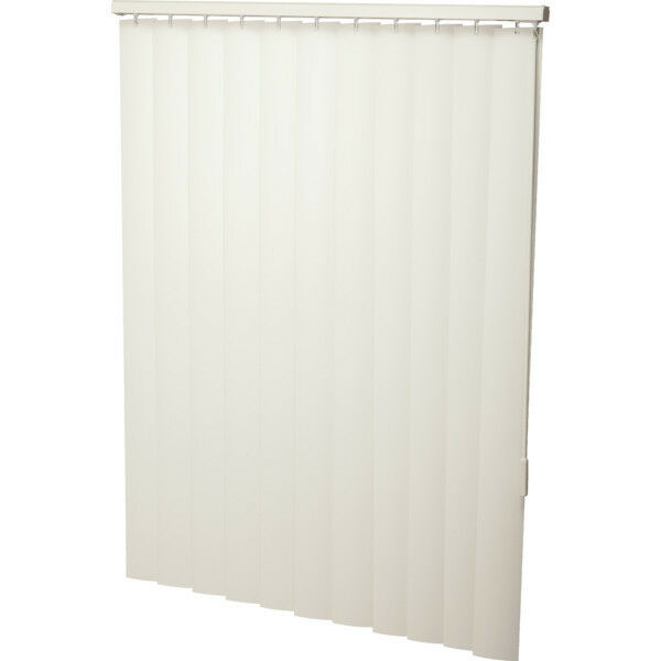 Vinyl alabaster window blinds 78 w x 60 h vertical for Finestra 60 x 60 pvc