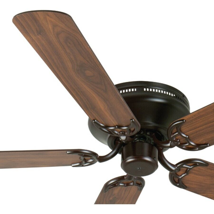 Craftmade Ceiling Fan, Oiled Bronze Contemporary Flush