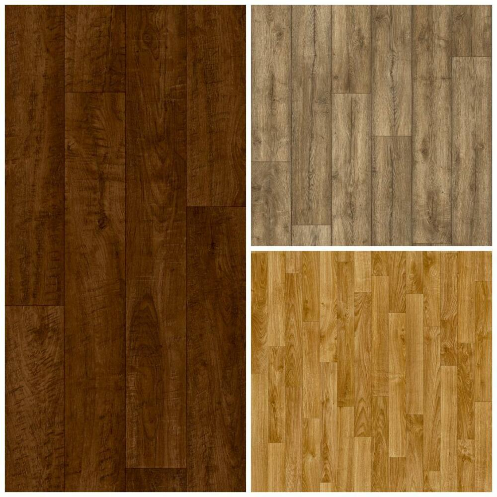 Wood laminate effect vinyl flooring brand new cheap lino for Lino flooring wood effect