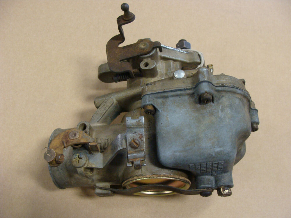 Tractor Carburetor Rebuilding : Re manufactured ford tractor original oem holley