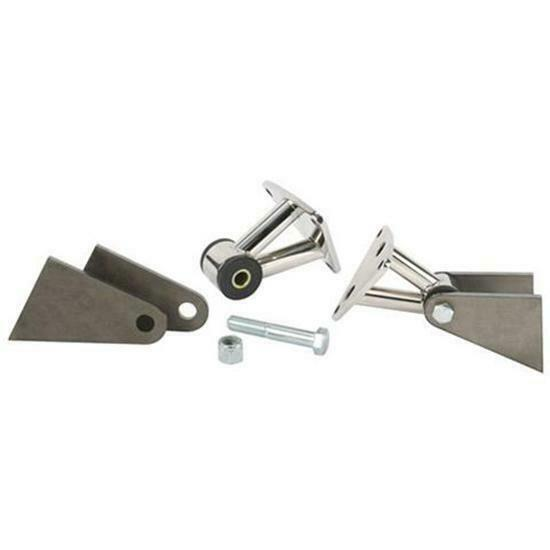 Small Engine Mounting Brackets : Small big block chevy polished stainless engine motor