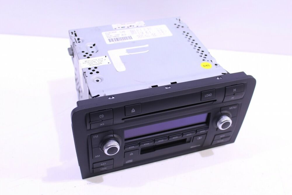 audi a3 8p 3 2 symphony 2 stereo radio cd player. Black Bedroom Furniture Sets. Home Design Ideas