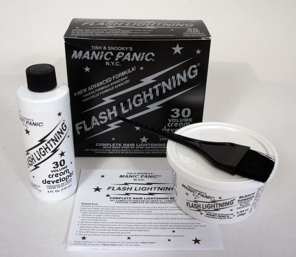 how to get manic panic to fade