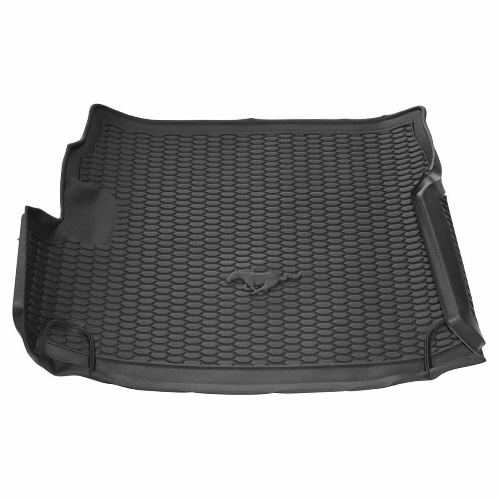 Oem Trunk Cargo Area Mat Liner Molded Black Rubber For 10