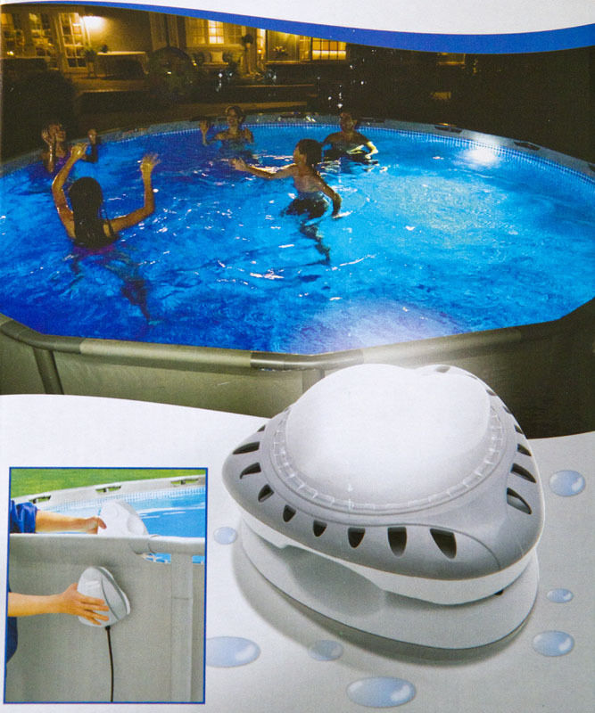 intex led pool lighting item num 12 56688 ebay. Black Bedroom Furniture Sets. Home Design Ideas
