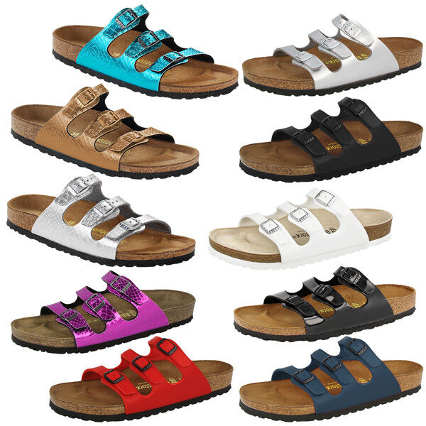 birkenstock florida schuhe damen sandalen hausschuhe pantoletten clog ebay. Black Bedroom Furniture Sets. Home Design Ideas