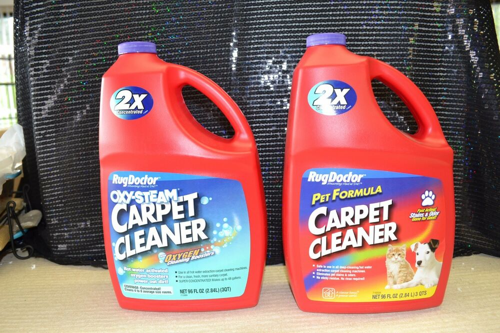 Rug Doctor Carpet Shampoo Cleaner New Oxy Steam Amp Pet 1 Of