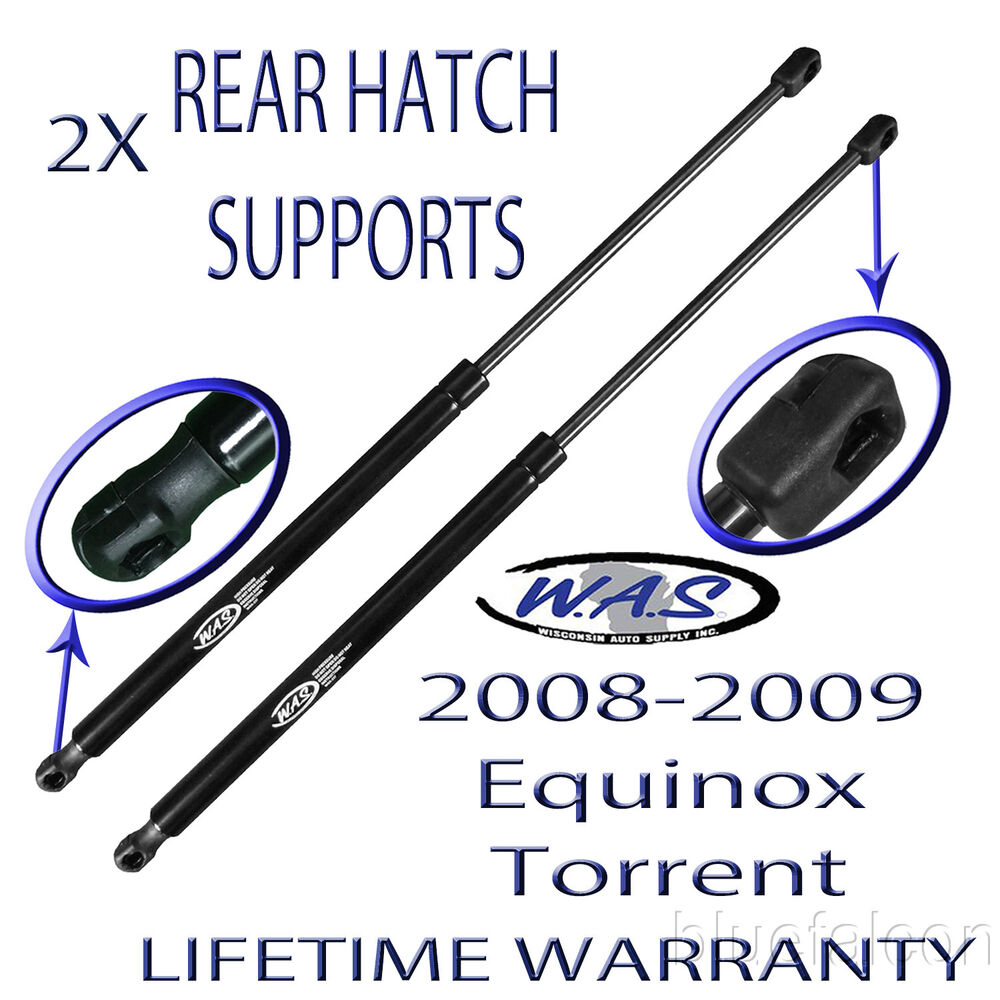 Chevy Equinox Hatch Struts: 2 New Rear Hatch Liftgate Tailgate Lift Supports Shock For