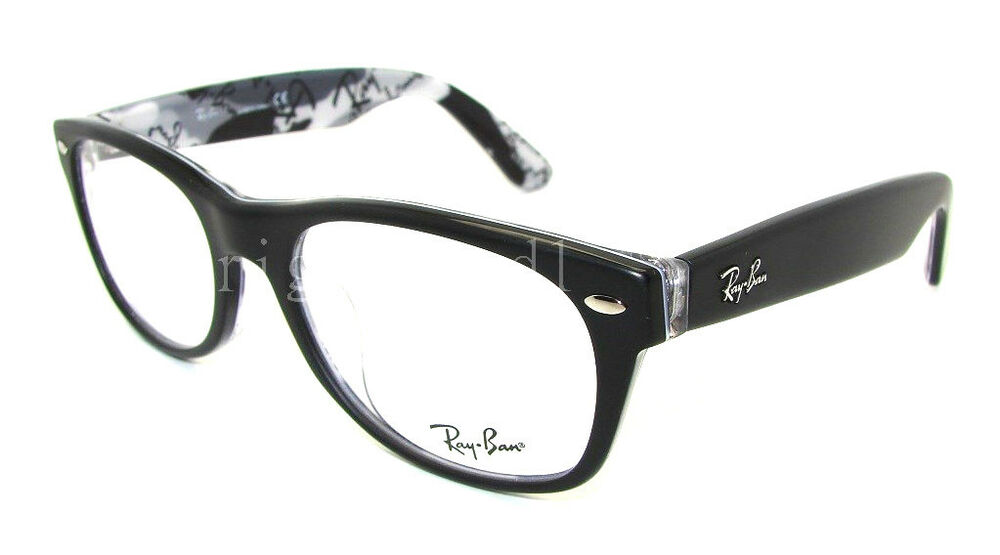 Eyeglass Frame : Authentic RAY-BAN NEW WAYFARER Black Eyeglass Frame RX ...