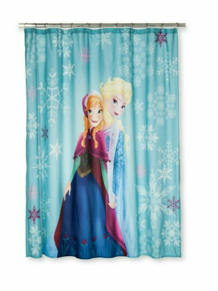 Disney Frozen Anna Amp Elsa Fabric Shower Curtain