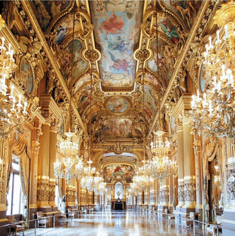 The Grand Foyer Will Transport : Pieces mini jigsaw puzzle opera grand foyer by