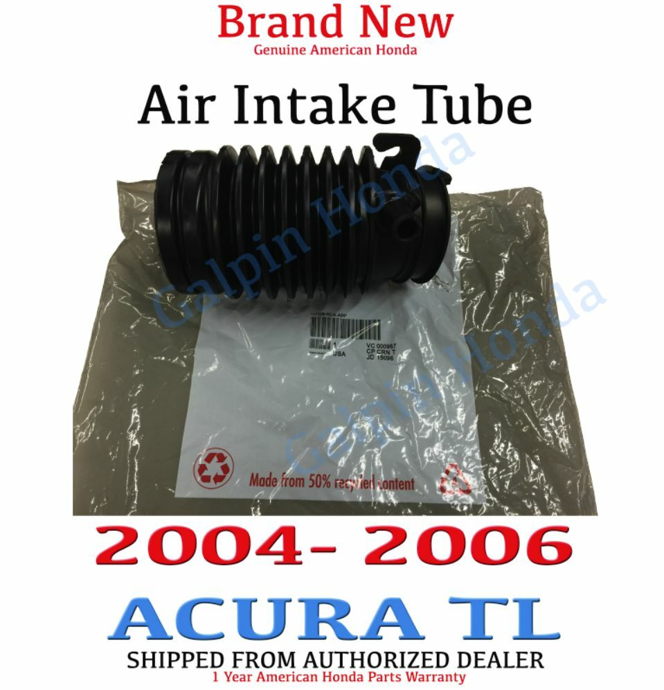 2004- 2006 Acura TL Genuine OEM Air Intake Hose Tube