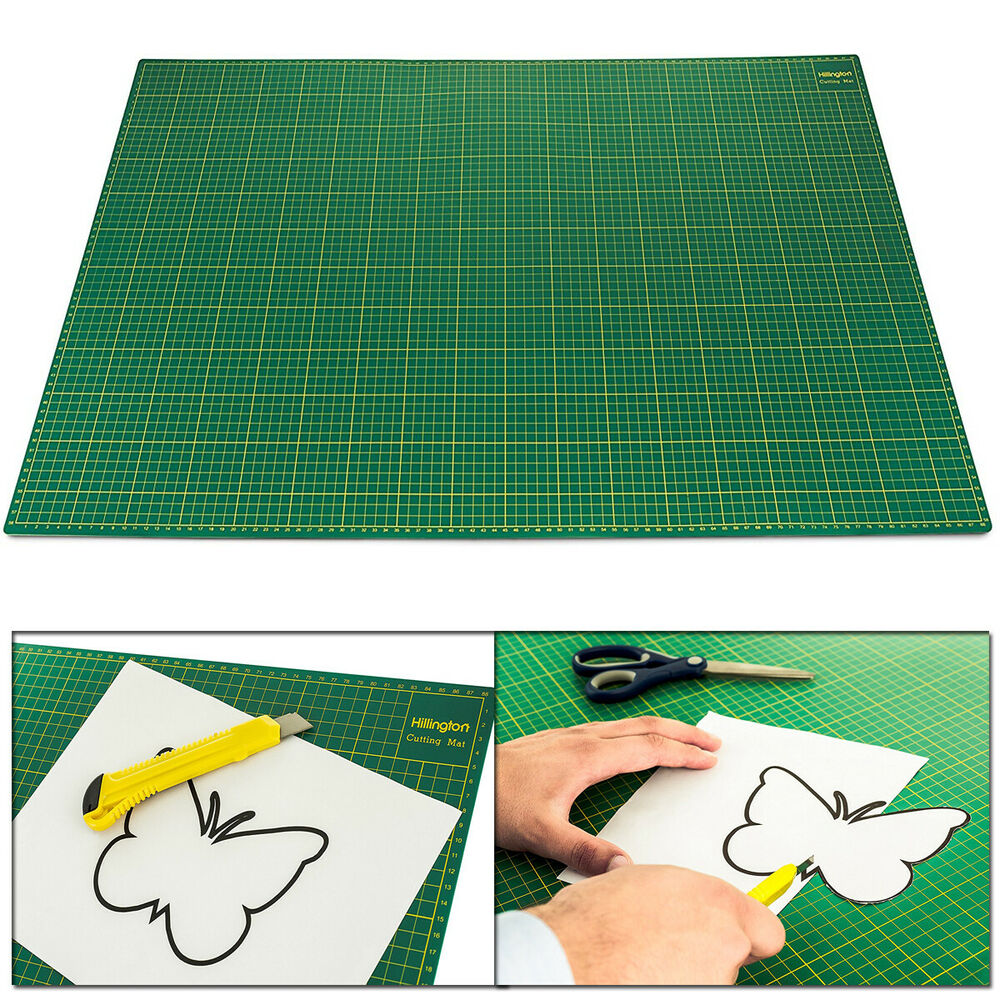 A1 Self Healing Cutting Mat Non Slip Printed Grid Arts