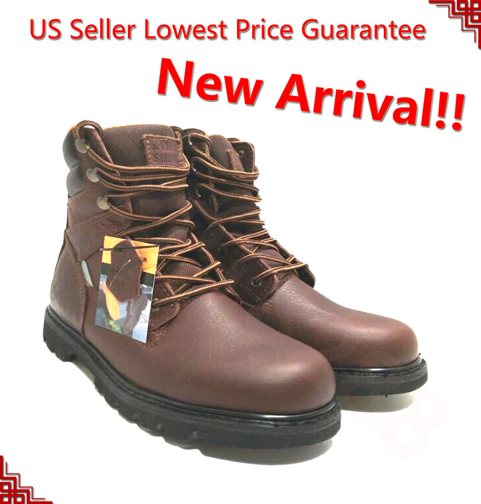 Menu0026#39;s Work Boots Rugged Pioneer Logger Boot Good Year Welt Safety Shoes 1312 | EBay