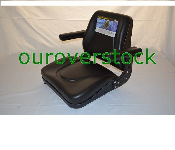Universal Vintage Tractor Seat Replacement : Universal tractor seat w slide tracks t bl kubota ford