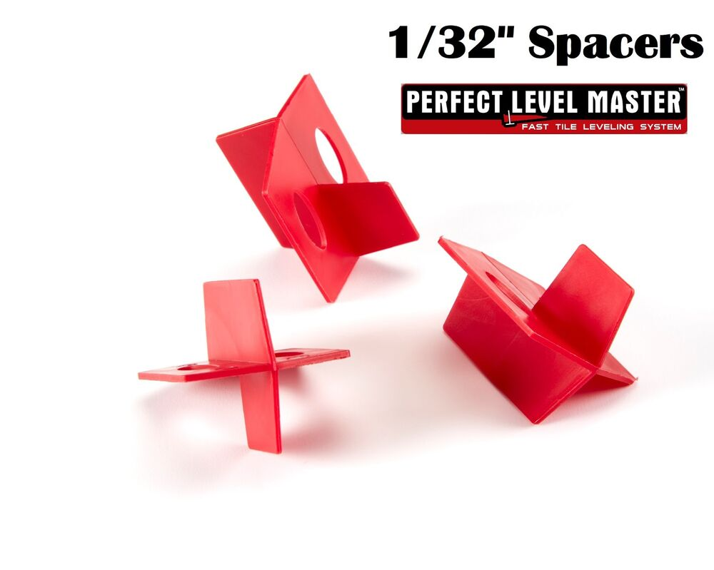 1 32 perfect level master quality 3 side tile spacers for Level master