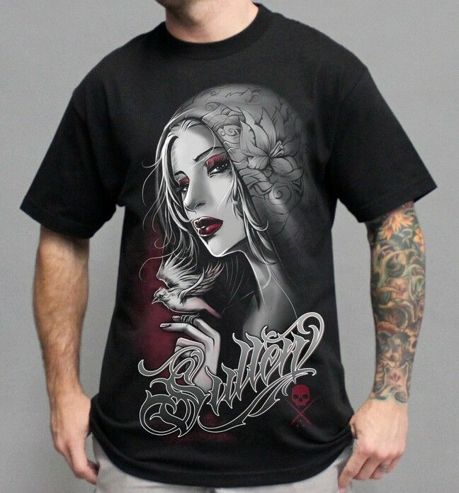 Authentic sullen clothing cloaked beauty punk goth ink for Ebay tattoo ink