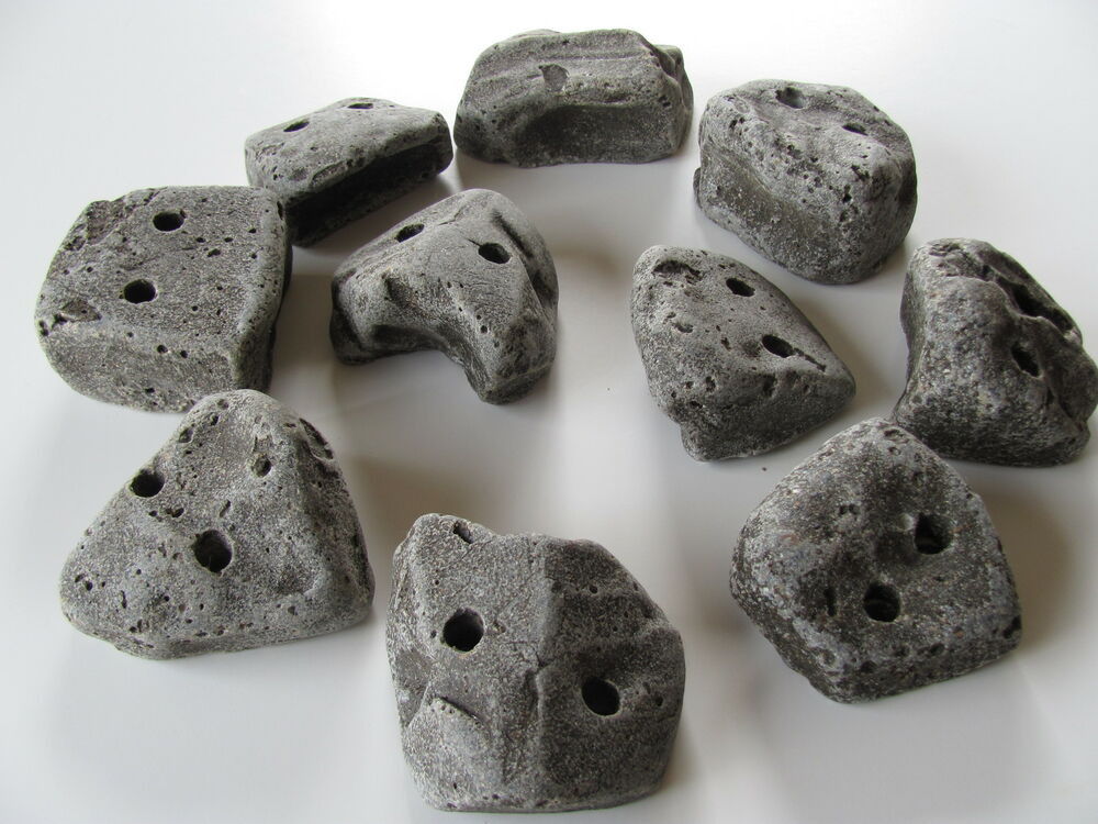 50 KIDS SCREW ON ROCK CLIMBING HOLDS. | eBay