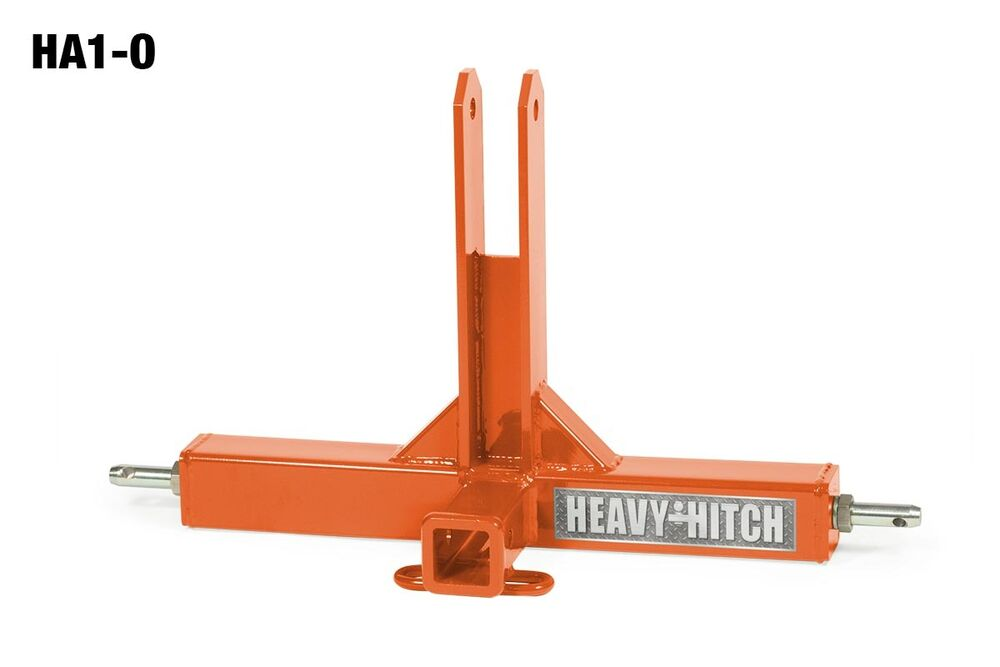 Tractor Hitch Parts : Kubota orange cat compact tractor trailer mover hitch