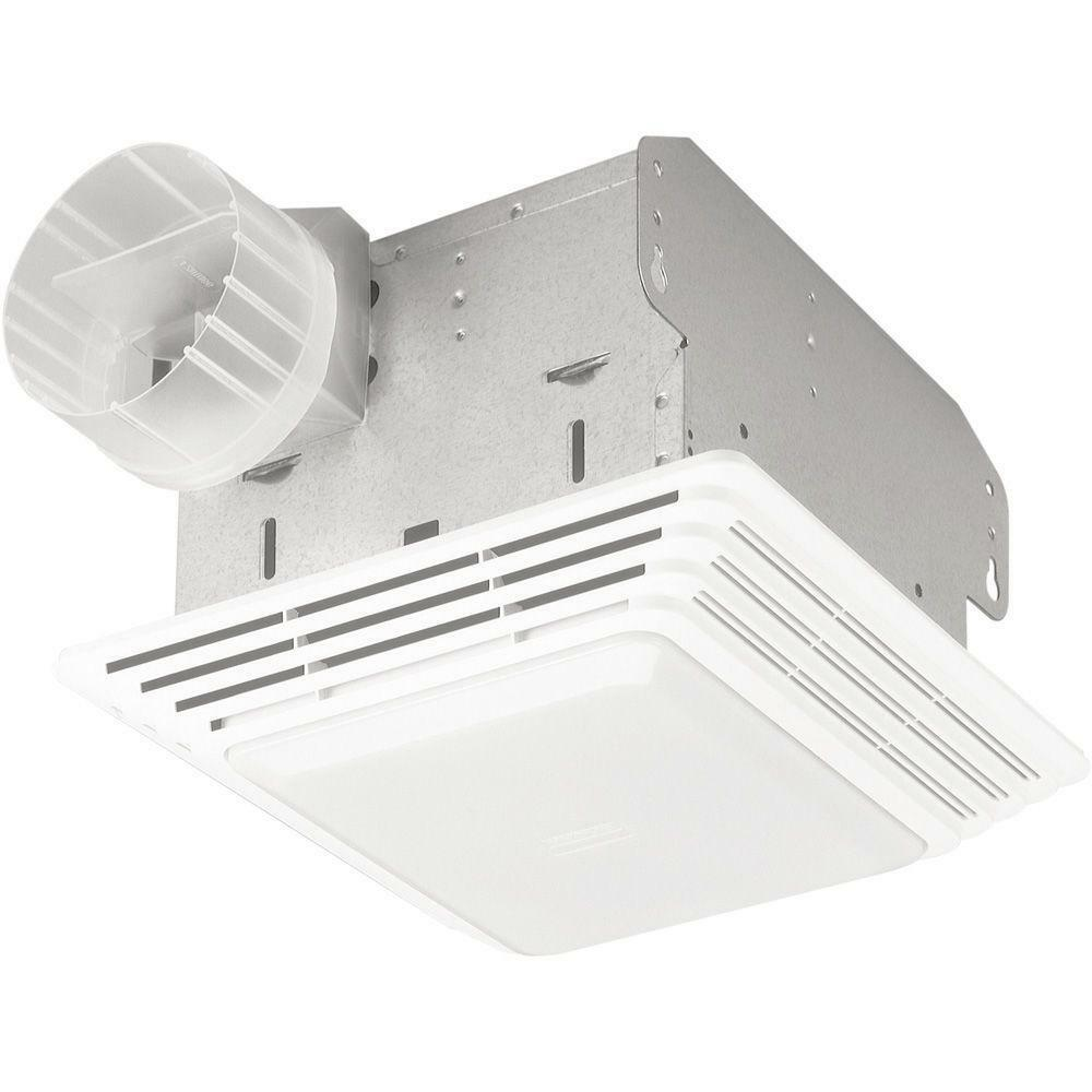 Nutone Kitchen Exhaust Fan: NuTone HD50LNT Heavy-Duty 50 CFM Ceiling Exhaust Fan With