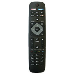 New TV Remote Control For All Philips LCD LED Smart TV Netflix Vudu Youtube