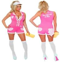 Ladies Sexy Car Wash Cutie Fancy Dress Costume Sizes 8-20 Attendent Hen Night