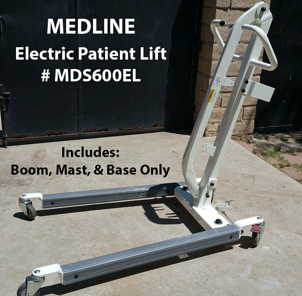Medline Patient Lift Mds600el Base Boom And Mast Only