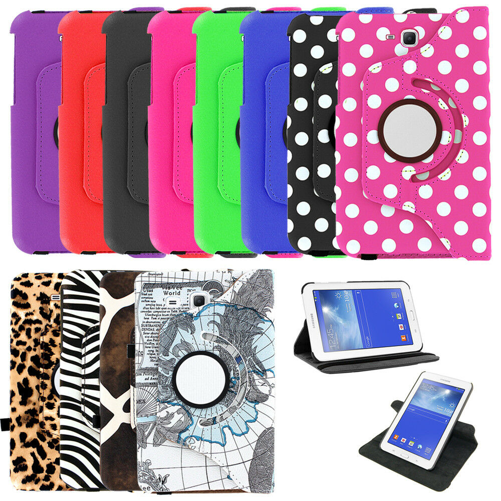 360 Leather Case Cover Skin Pouch For Samsung Galaxy Tab A