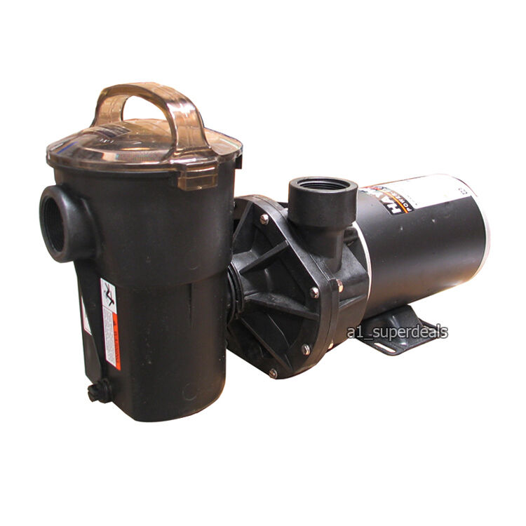 Hayward powerflo lx aboveground swimming pool pump 1 5 hp for Above ground pool pump motor replacement