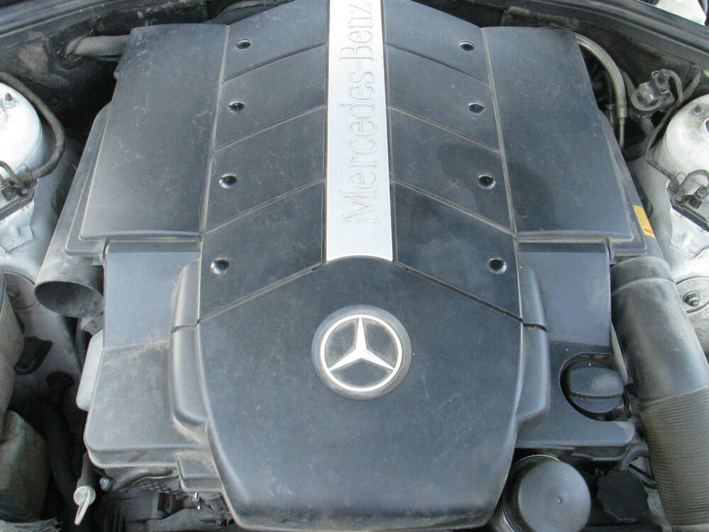 Mercedes benz w220 s500 engine cover 2000 2001 2002 2003 for 2000 mercedes benz s500 parts