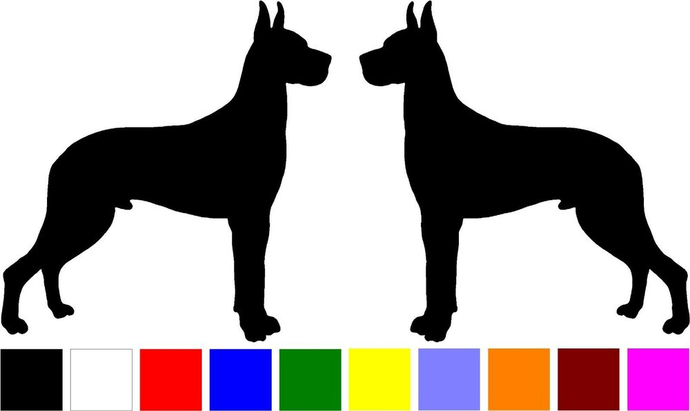 Dog Breed Decals For Car Windows