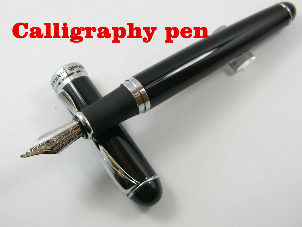 Jinhao 750 Black Calligraphy Nib Fountain Pen Ebay