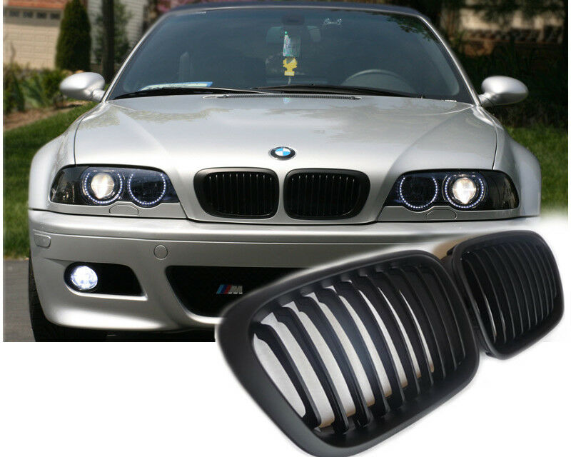 bmw e46 limousine touring nieren k hlergrill grill schwarz. Black Bedroom Furniture Sets. Home Design Ideas